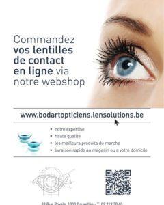 commandez 24/7 vos lentilles de contact via notre webshop et bénéficiez d'une foule d'avantages:…