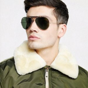 Ray-Ban green lens aviator #bodartopticiens @ Bodart Opticiens