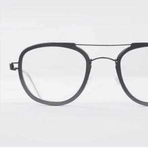 une esthétique moderne de titane et d'acétate s'entremêlant organiquement #lindberg #lindbergeyewear #lunettes #vision #opticien…
